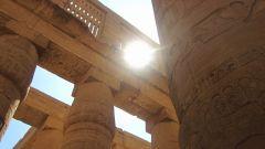 Egipatsko sunce U Karnaku