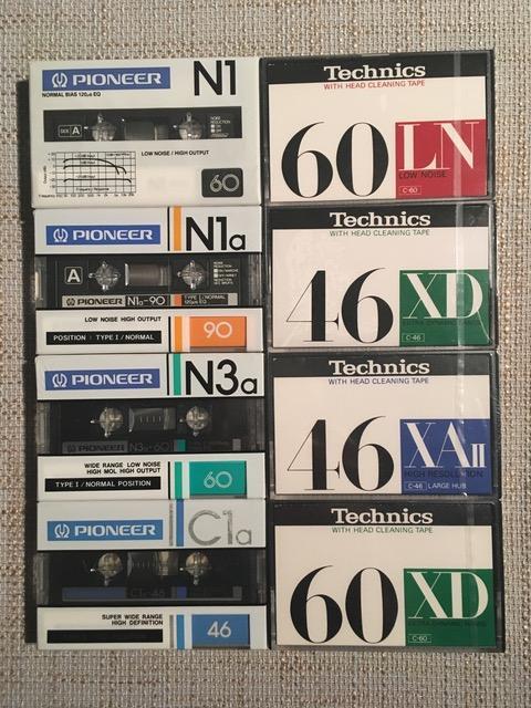 Technics & Pioneer tapes.jpg