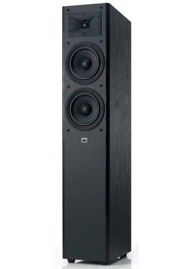 Image---JBL-Arena-180-Black-Angled-without-Grill