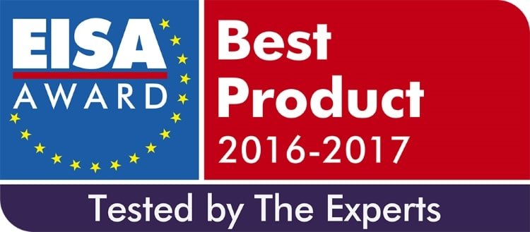EISA Award Logo 2016-2017 Tested by the Experts